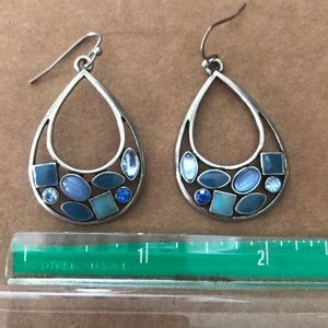 Lia Sophia Blue Stone Earrings